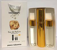Реплика набора парфюма Paco Rabanne Lady Million Woman 45ml