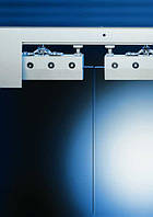 Раздвижная система Dorma RS 120 для стеклянных раздвижных дверей