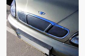 Зимняя накладка на решетку (верхняя) - Daewoo Lanos