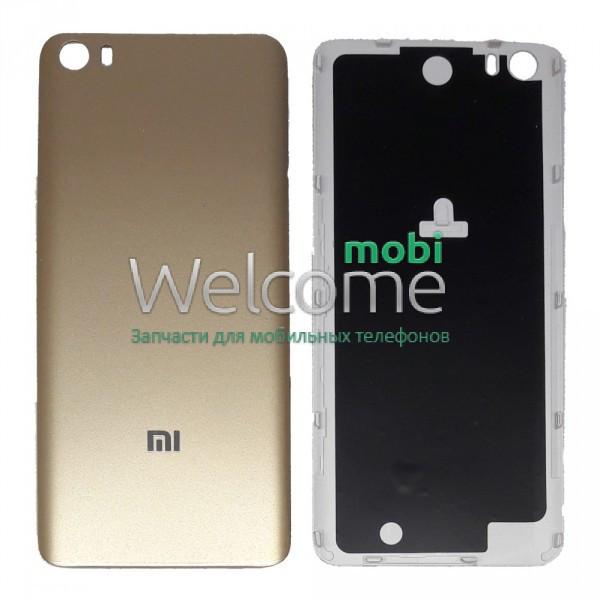 Задняя крышка Xiaomi Mi5 gold, сменная панель сяоми ксиоми