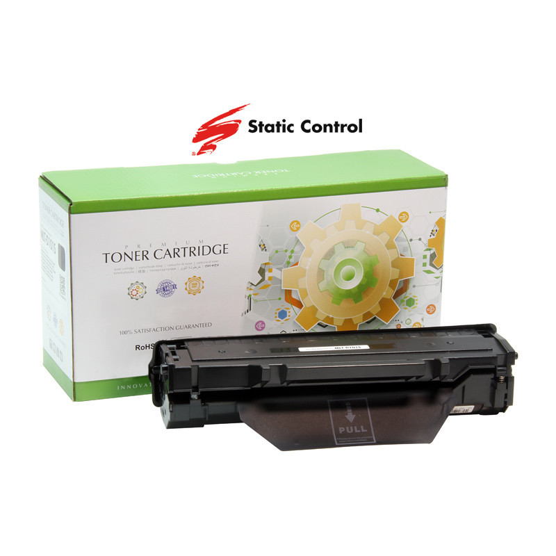 Картридж Samsung MLT-D101S, Black, ML-2160/2165/2168, SCX-3400/3405, SF-760P, 1.5k, Static Control (002-02SD101SSEE)