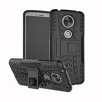 Чехол Motorola Moto E5 Plus / XT1924-1 противоударный бампер черный