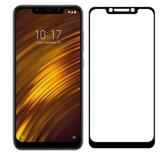 Full Glue захисне скло для Xiaomi Pocophone F1 - Black