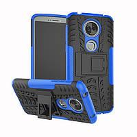 Чехол Motorola Moto E5 Plus / XT1924-1 противоударный бампер синий
