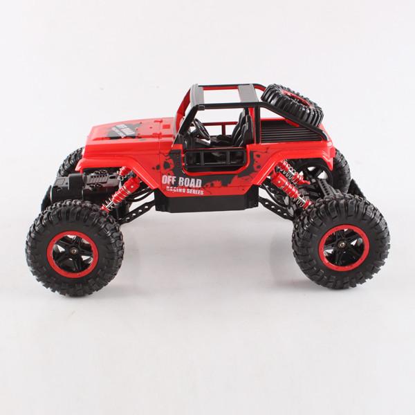 Радіокерована іграшка DIANCHENG TOYS Crawler Challenger іграшковий джип на р/к 1:18 700mAh Червоний (SUN2358)