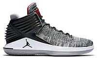 """Баскетбольные кроссовки Air Jordan XXX2 """"Black/Red/Cement Grey"""" - """"Черные Серые""""  (Копия ААА+)"""