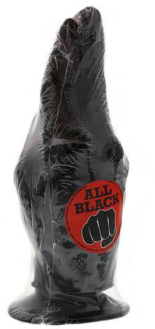 Кисть для фистинга All Black 21 см, черная, фото 2
