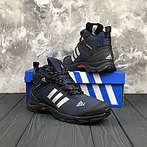 """Зимние ботинки на меху Adidas Climaproof """"Blue"""" (Синие), фото 3"""
