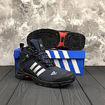 """Зимние ботинки на меху Adidas Climaproof """"Blue"""" (Синие), фото 2"""