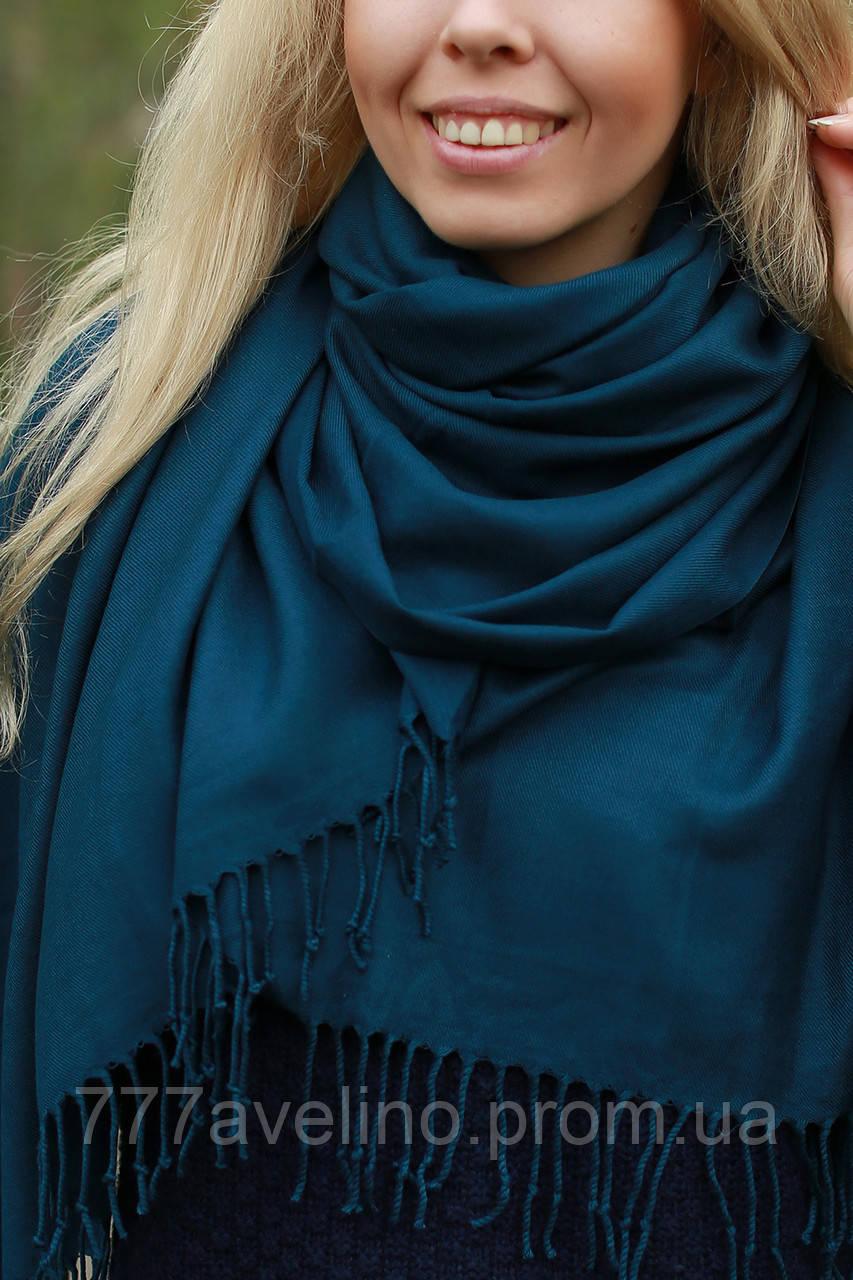 Палантин женский  синий