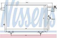 Радиатор кондиционера  Ауди 100/ А6 (пр-во NISSENS 94213)