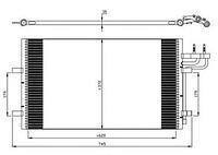 Радиатор кондиционера  Форд C-MAX/ Фокус C-MAX/ Фокус II/ Фокус II Station Wagon (пр-во NRF 35551)