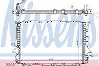 Радиатор охлаждения  Ауди 100 (пр-во NISSENS 60458)