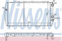 Радиатор охлаждения  Ауди 500/ 100/ 200 (пр-во NISSENS 604551)