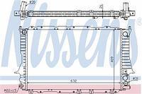 Радиатор охлаждения  Ауди 100/ А6 (пр-во NISSENS 60459)