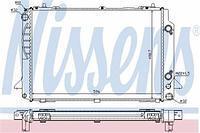 Радиатор охлаждения  Ауди 80/ CABRIOLET/ COUPE (пр-во NISSENS 60467A)