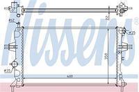 Радиатор охлаждения  Опель Астра G Delvan/ Астра G/ ZAFIRA A (пр-во NISSENS 630041)