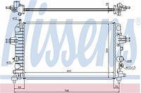 Радиатор охлаждения  Опель Астра A+/ Астра H/ Астра H Sport Hatch/ Астра H TwinTop (пр-во NISSENS 63028A)