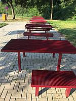 Стол парковый металлический антивандальный, фото 1