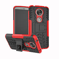 Чехол Motorola Moto E5 Plus / XT1924-1 противоударный бампер красный