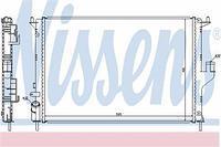 Радиатор охлаждения  Дачия, Ваз, Рено (пр-во NISSENS 637612)