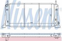 Радиатор охлаждения  Форд Эскорт 86/ ЭскортV/ Орион (пр-во NISSENS 621541)