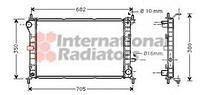 Радиатор охлаждения  Форд Фокус/ Фокус Clipper (пр-во VAN WEZEL 18002264)