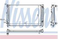 Радиатор охлаждения  Ауди, Фольксваген (пр-во NISSENS 60499)
