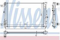 Радиатор охлаждения  Ауди, Шкода, Фольксваген (пр-во NISSENS 60308A)