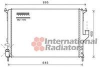 Радиатор охлаждения  Дачия, Рено (пр-во VAN WEZEL 43002477)