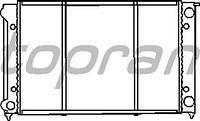 Радиатор охлаждения  Фольксваген Гольф/ Джета (пр-во HANS PRIES 102726)