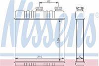 Радиатор печки (отопителя)  CHEVROLET, Опель (пр-во NISSENS 72660)