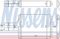 Радиатор печки (отопителя)  Опель Вектра B (пр-во NISSENS 72656)