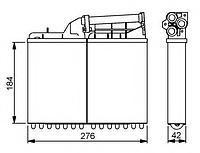 Радиатор печки (отопителя)  БМВ 5 (пр-во NRF 58053)