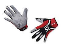 Перчатки EXUSTAR CG520 серый/красный/черный M