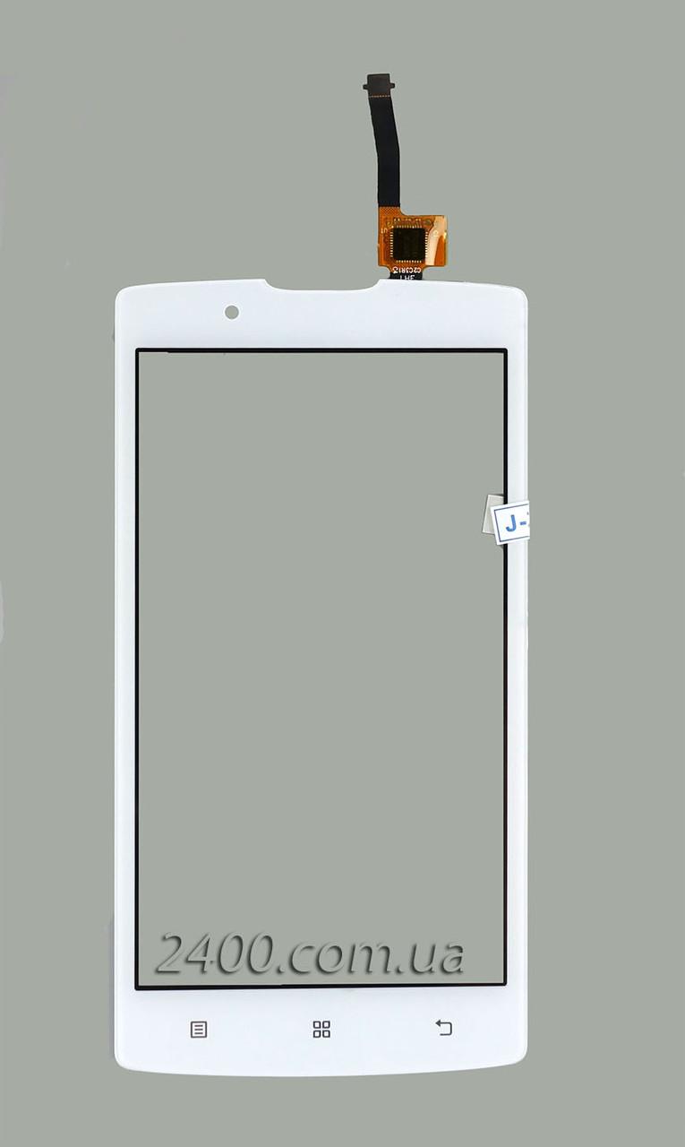 Тачскрин (сенсор) для телефона Lenovo A 2010 белый