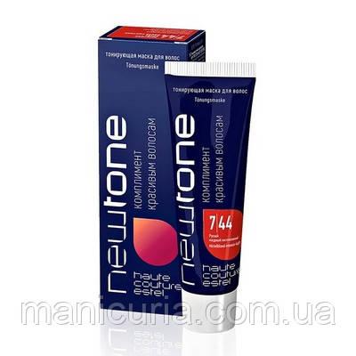 Тонирующая маска для волос Estel NEWTONE 7/44 Русый медный интенсивный, 60 мл