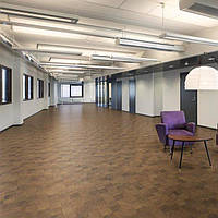 Expona Commercial Wood PUR 4109 Endgrain Woodblock виниловая плитка клеевая Polyflor, фото 1