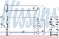 Радиатор печки (отопителя)  Фольксваген Транспортер / CARAVELLEV/ ТранспортерV (пр-во NISSENS 73974)