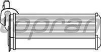 Радиатор печки (отопителя)  Фольксваген Транспортер / CARAVELLEV/ ТранспортерV (пр-во HANS PRIES 108614)
