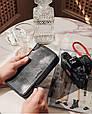 """Кошелек-клатч вместительный кожаный на молнии """"Dominant"""". Цвет черный, фото 6"""