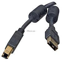 Кабель для принтера USB 2.0 AM/BM 1.8m Defender (87430)