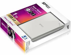 Внешний жесткий диск 1 Tb / 1000 Gb Silicon Power Stream S03, USB 3.0 (SP010TBPHDS03S3W), 1 Тб / 1000 Гб, фото 3