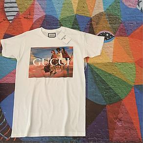 Космическая футболка Gucci Heroes • Люксовая , фото 2
