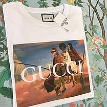 Космическая футболка Gucci Heroes • Люксовая , фото 3