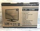 "Новый Led телевизор Samsung BlackLight 21"" Т2 тюнер,HD Ready,dvb-t2, фото 8"