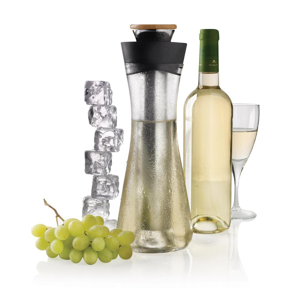 Графин для белого вина и напитков с охладителем XD Design Gliss (кувшин, питьевой набор)