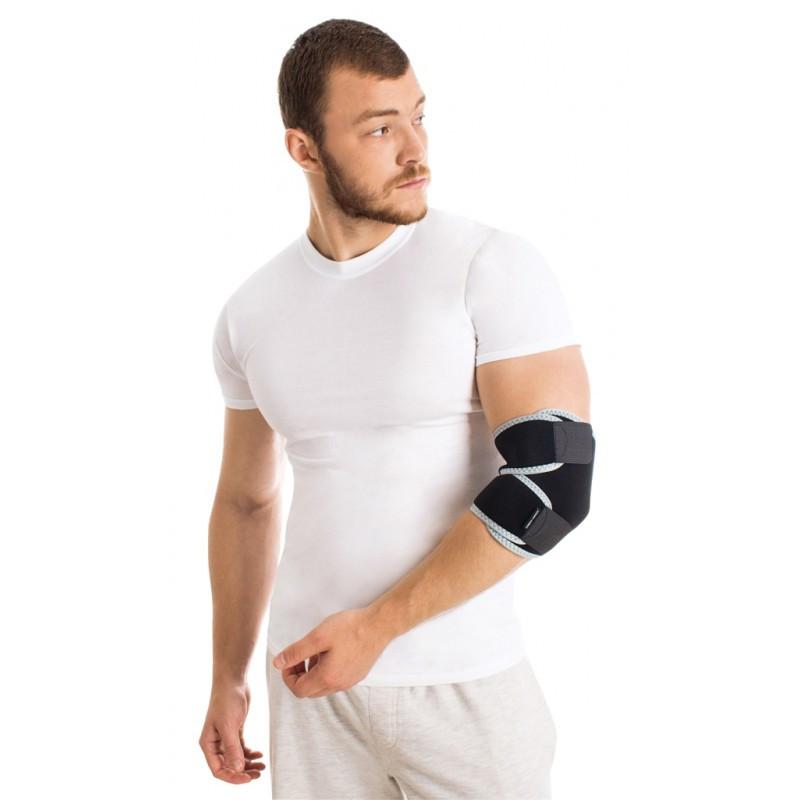 Бандаж для локтевого сустава разъемный неопреновый универсальный
