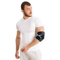 Бандаж для локтевого сустава разъемный неопреновый универсальный , фото 1