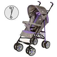 Детская коляска-трость BAMBI (M 2108-1) с глубокой крышей (Фиолетовый), фото 1